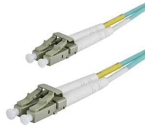 Om3 50/125 Lc Vers Dlx 2.8mm Fibre Optique Duplex Câble De Raccordement - Eau Gb Facile à Lubrifier