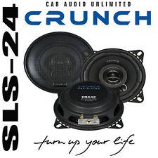 Crunch 2 Wege Koaxial Lautsprecher System KFZ Boxen DSX42 120Watt 10cm 60W RMS