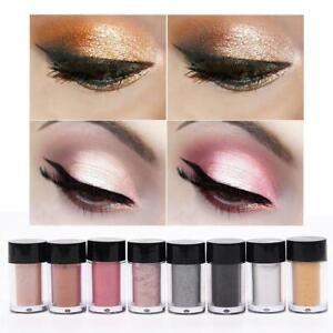 Focallure-8-Farben-Make-up-Glitter-Lidschatten-Schimmer-Pulver-Pigment-B2H7