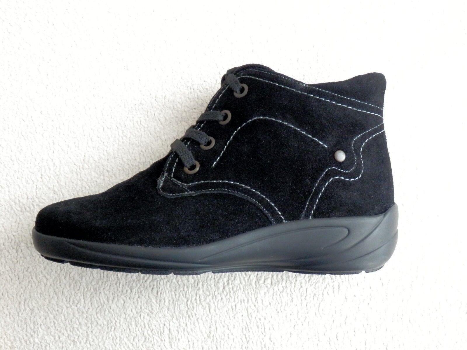 Semler Birgit brevemente caña botas botín negro Gr. 33 33 33 38 39 41 ancho H  tiempo libre