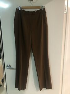 Cavita-Collections-By-Escada-Womens-Brown-Pants-Sz-10-RRP-285-As-New
