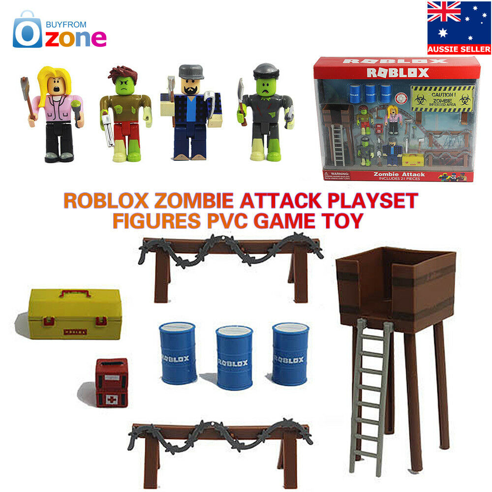 Roblox-Zombie Attack-Playset /& Figure