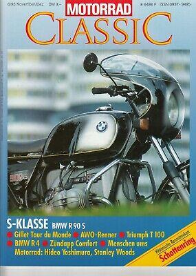 Kreativ Motorrad Classic 6 / 1993 Delikatessen Von Allen Geliebt