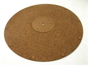 Vibes Audio Lab Turntable Vinyl Record Cork Mat For