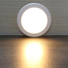 6LED Wireless PIR Motion Sensor Light Cabinet Locker Lamp Battery Powered OFF/ON
