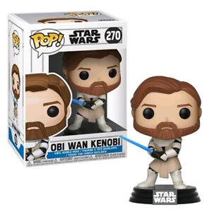 Star Wars The Clone Wars Obi Wan Kenobi Pop! Vinyl Figure #270