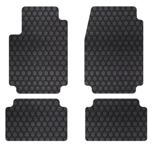 Intro-Tech Hexomat Car Floor Mats Carpet Front Rear For PORSCHE 89-91 944