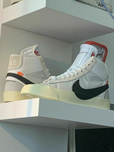 Nike Off White Blazer The Ten Size 7.5 US ( Displa