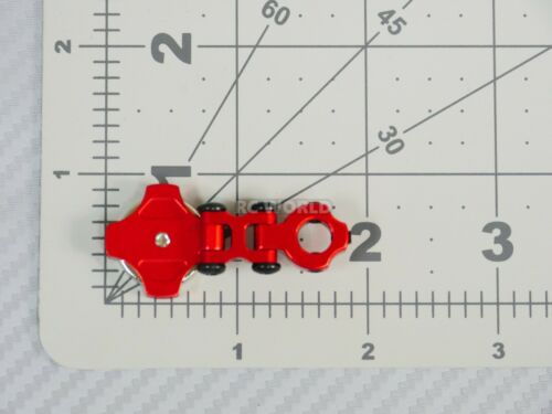 RC Car STEALTH  MAGNETIC BODY MOUNT 5MM Body Post  *SET OF 2* Red