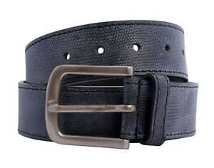 New Unisex Reptile Snake Skin Genuine Leather Pin Buckle Belts S-3XL