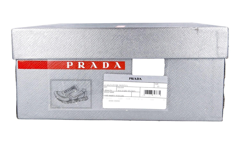 LUXUS PRADA NEU SNEAKER SCHUHE 3E6026 GRAU PINK NEU PRADA NEW 36 36,5 db8ac7
