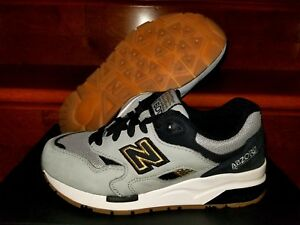 New Balance 1600 Lost World Collection Size 5.5 Grey Black Gold ... 2d6bc03095192