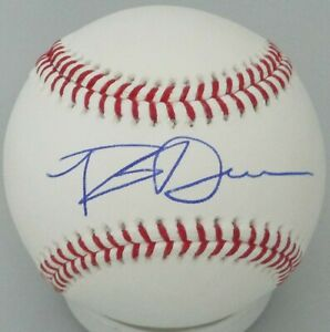 Brewers ROB DEER Signed Official MLB Baseball AUTO Tigers - Giants - Red Sox