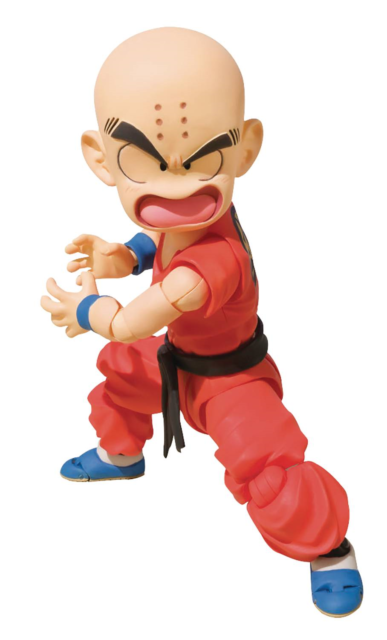 2018 Bandai Sh Figuarts Dragon Ball Z Kid Krillin Klilyn Figure Usa