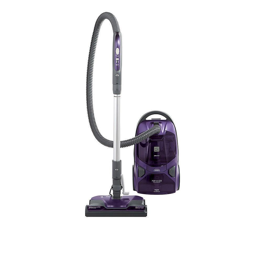 Kenmore 81614 600 Series Bagged Canister Vacuum w  Pet PowerMate - Purple