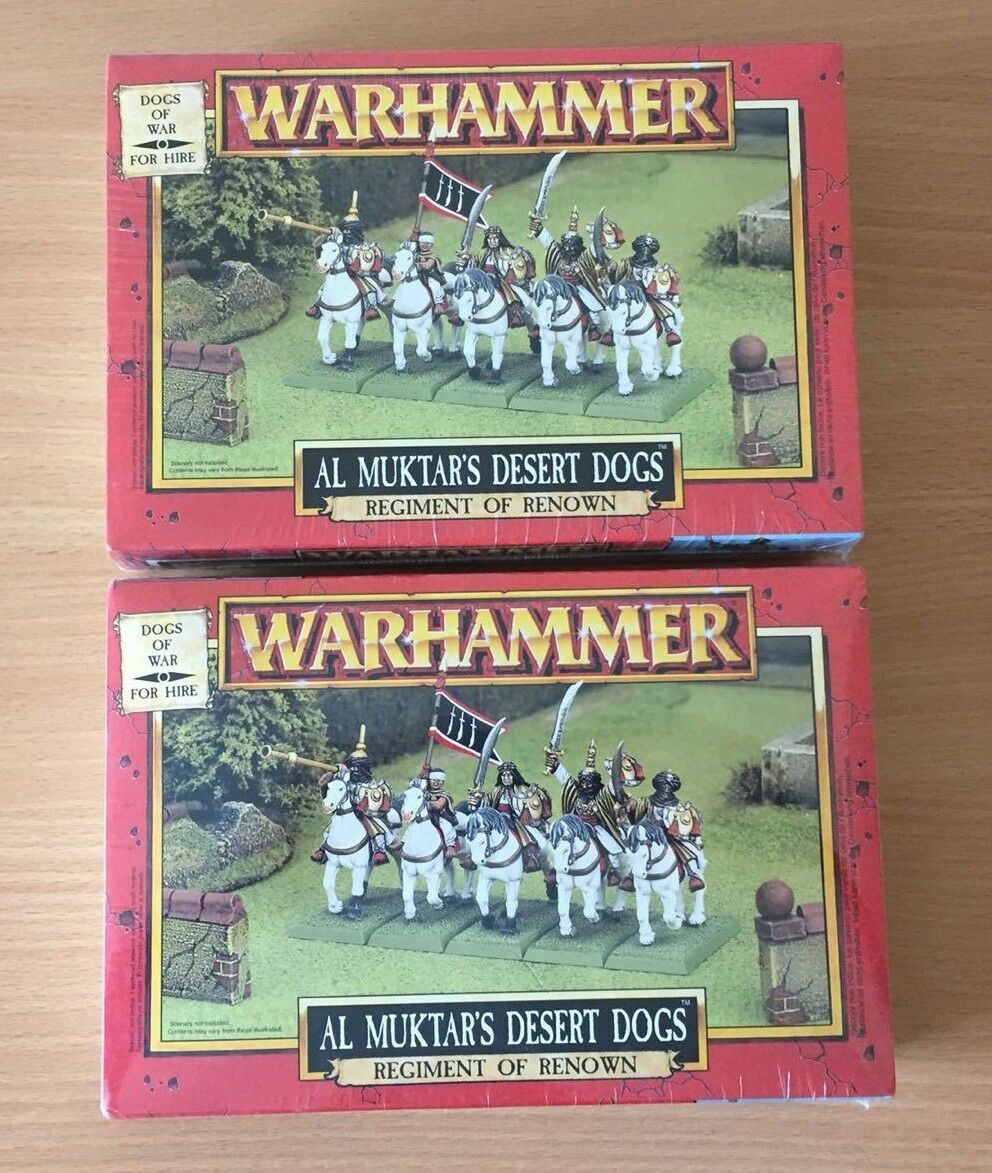 GW 1998 Warhammer Dogs Of War Al Muktar's Desert Dogs
