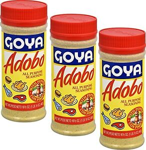 Goya Adobo Seasoning With Bitter Orange Naranja Agria 16 5 Oz Pack Of 3 Ebay