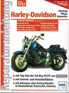 Buch-Reparaturanleitung-Harley-Davidson-Fat-Boy-Softail-Springer-Band-5252