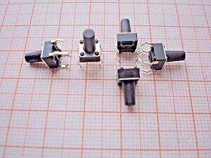 S15-10-Stk-Mini-Taster-Drucktaster-Mikrotaster-Eingabetaster-6x6x8-mm-12V