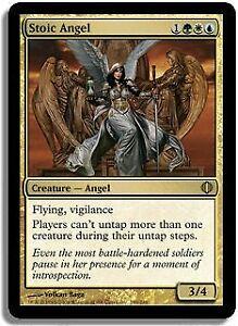 Stoic Angel Shards of Alara PLD-SP White Blue Green Rare MAGIC MTG CARD ABUGames