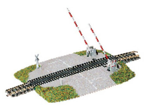 Fleischmann 9198 - Beschrankter Beschrankter Beschrankter Bahnübergang - Spur N - NEU  | Exzellente Verarbeitung  1bf7e9