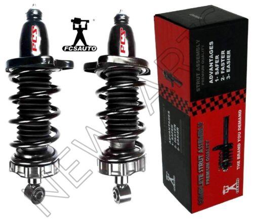 For Honda Ridgeline 06-14 Rear Left /& Right Struts /& Coil Springs FCS Set