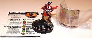Comic Panel 065 Deadpool and X-Force Marvel HeroClix Chase Rare PIRATE DEADPOOL