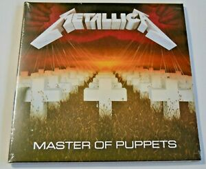 Metallica-Master-Of-Puppets-NEW-CD-Album-Sealed-Digipack
