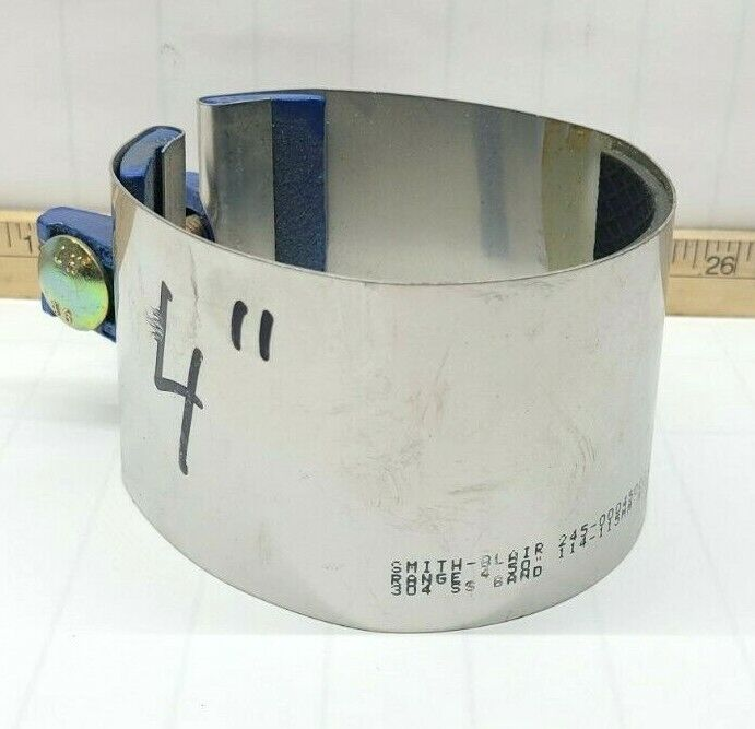 3 In L Pipe Size 2 In SMITH-BLAIR 24500023803000 Repair Clamp