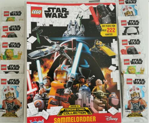 Lego Star Wars Trading Cards Serie 2 Starter Pack Sammelmappe