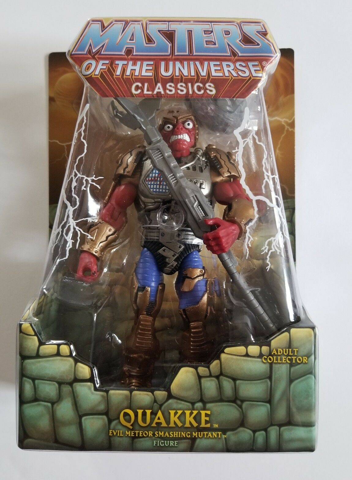 2018 Super 7  MOTU Quakke MOTUC Masters of the Universe classeeics NIB  acquista online