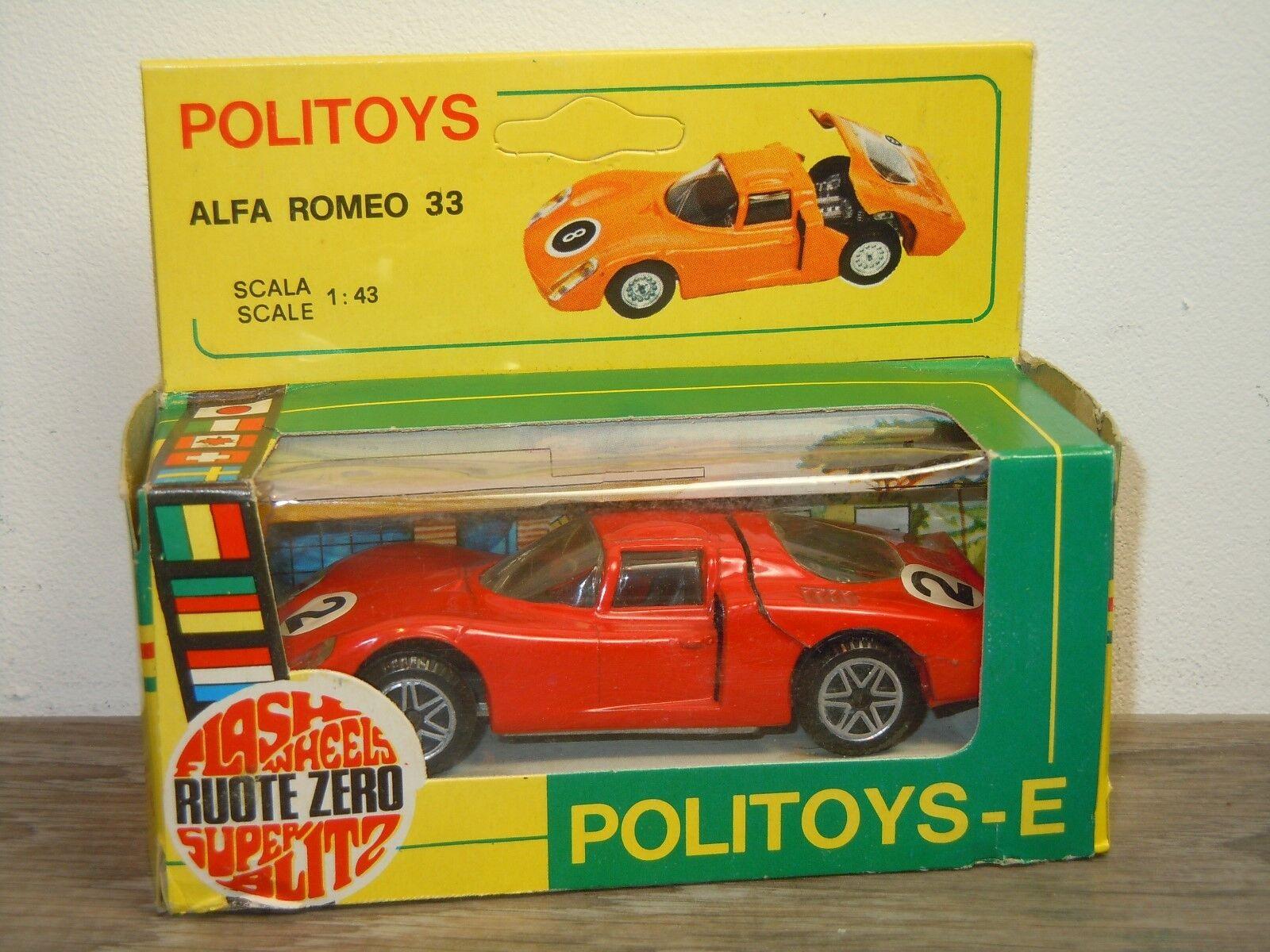 Alfa Romeo 33 - Politoys 583    1 43 in Box 35843 caaeb7