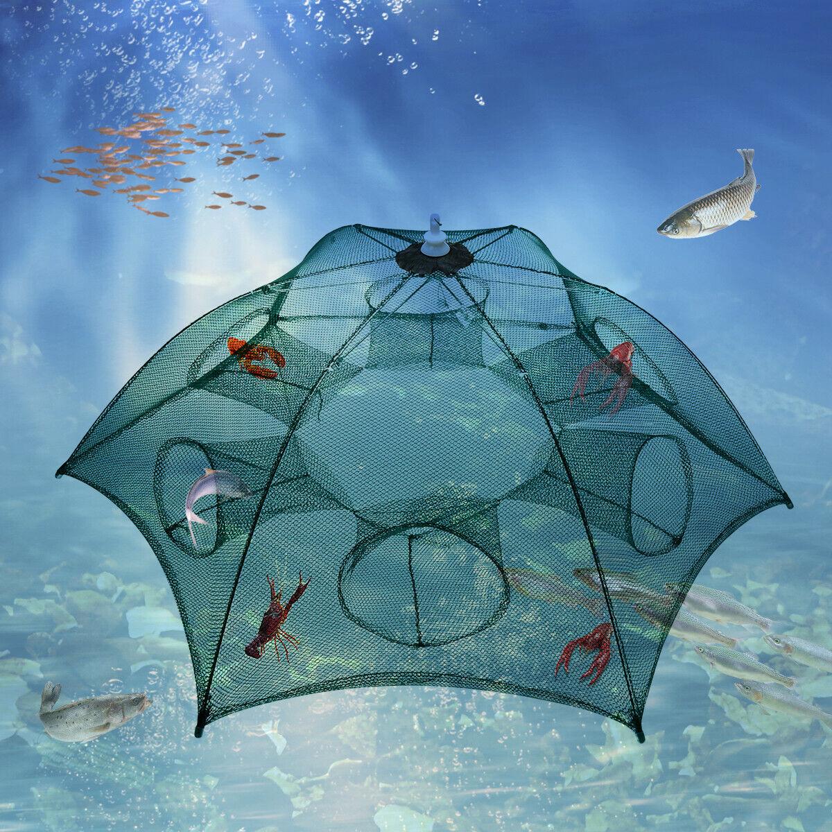 Foldable Fishing Bait Cast Dip Minnow Hot