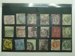 British QV Stamps 18 off to 1 including 2 12 4 12 6 9 10d 1 3 - Tarporley, United Kingdom - British QV Stamps 18 off to 1 including 2 12 4 12 6 9 10d 1 3 - Tarporley, United Kingdom