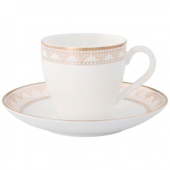 Villeroy & Boch - Samarkand - 6 Tasses Caffè Espresso avec plateau - Revendeur
