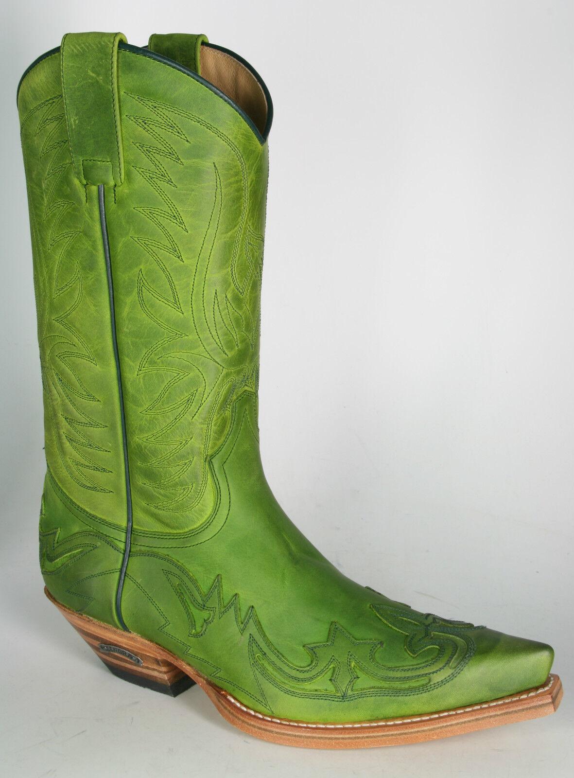 3241 Sendra Sendra Sendra botas de vaquero floter pistacho pistazienverde 4eee22