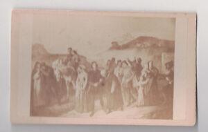 Vintage-CDV-2-European-Medievial-Renaissance-Biblical-Painting-Scenes