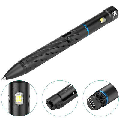 O-Pen Light and Pen Union Combo OLIGHT OPEN 2 5 to 120 Lumens 4 Levels of Brightness LED Flashlight with Built-in Rechargeable Battery and USB-C Charging Cable