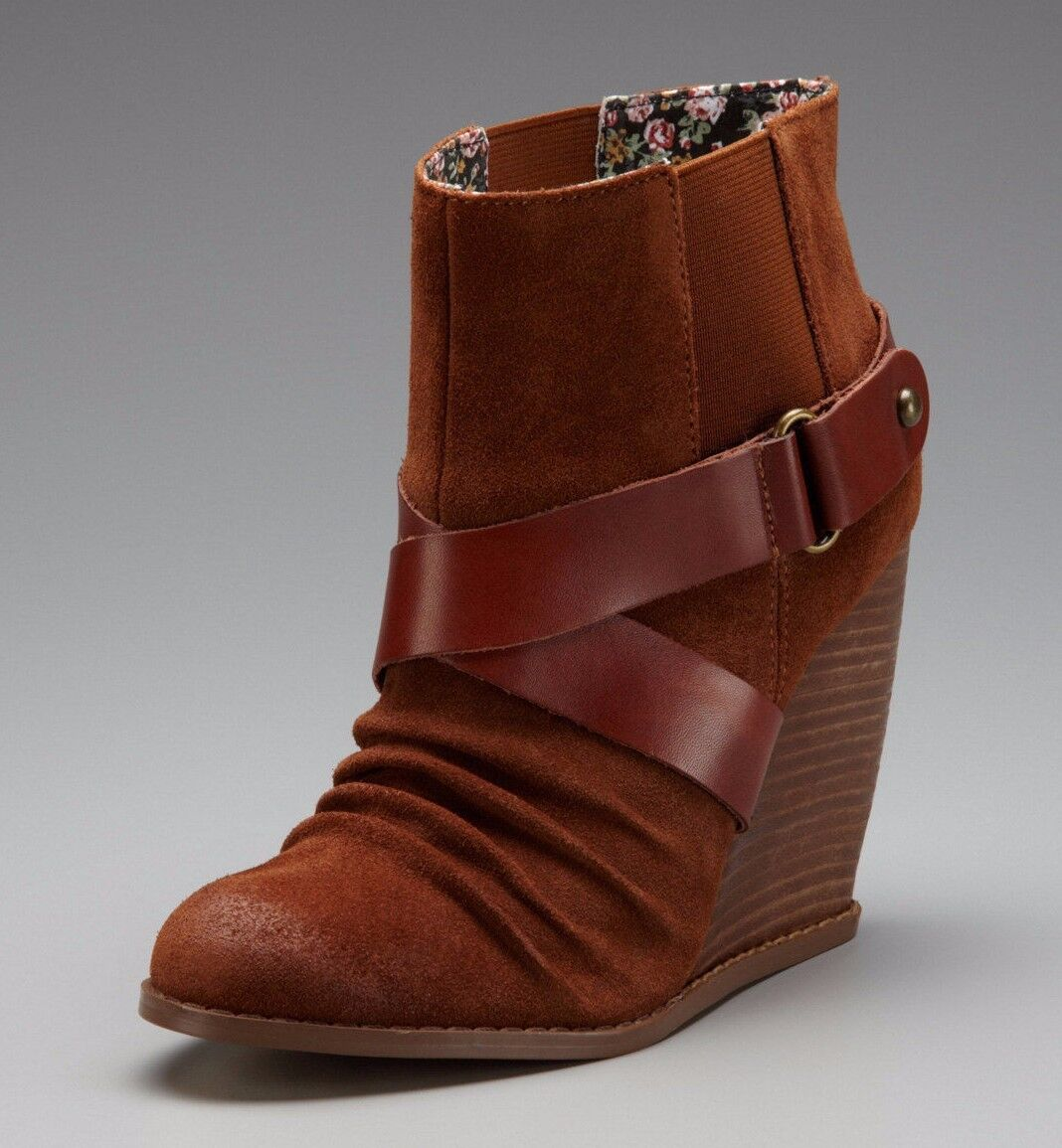 SEYCHELLES chaussures THRILLER WEDGE démarrageIES SUEDE WHISKEY ANKLE bottes 7  140