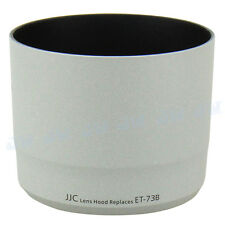 JJC Lens Hood Shade For Canon EF 70-300MM F/4-5.6L IS USM White Replaces ET-73B