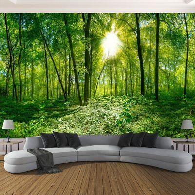 3d Forest Trees Sunlight Nature Wall Mural Wallpaper Living Room Bedroom Ebay,What Is A Neutral Color Palette