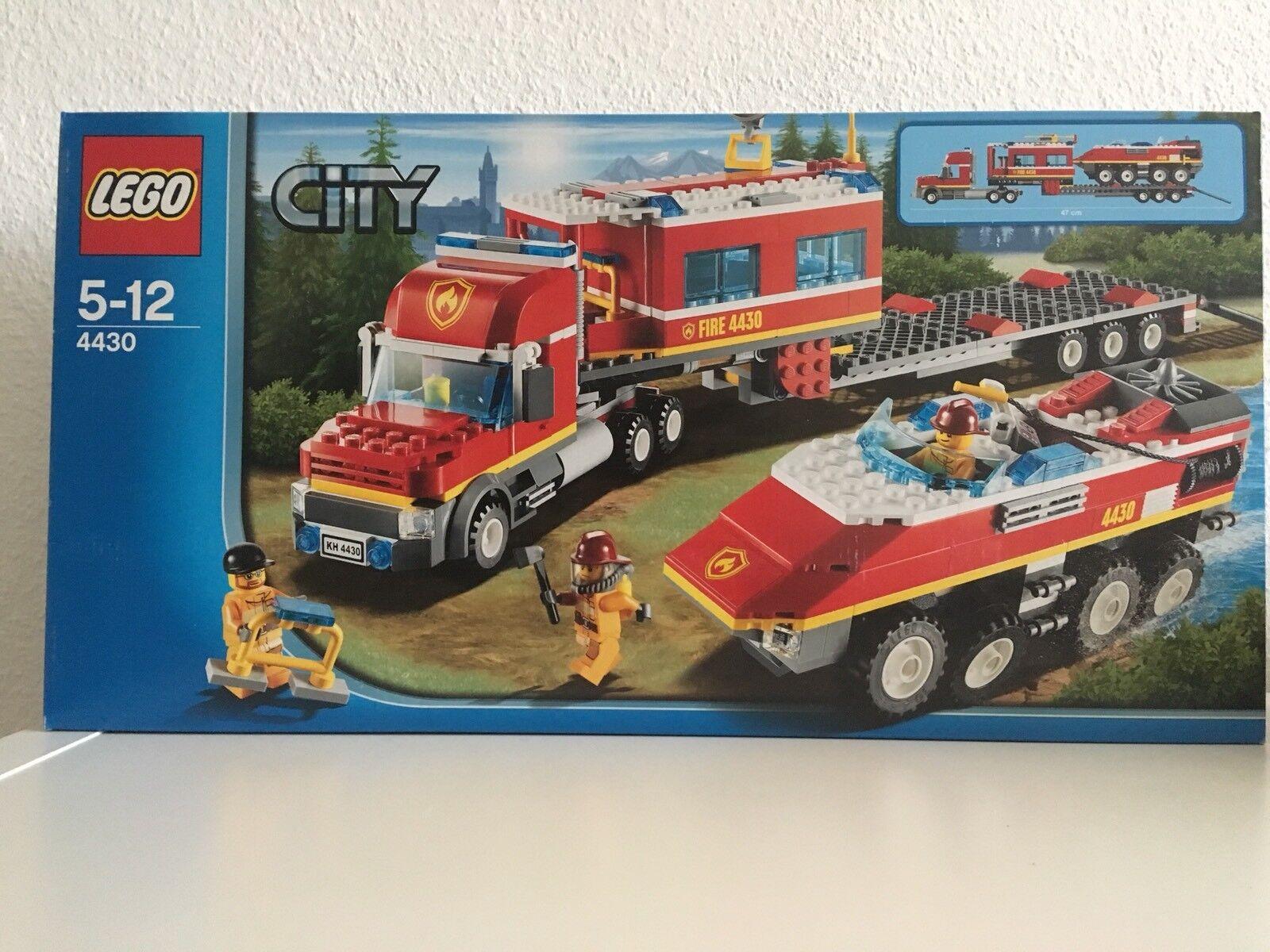 LEGO City 4430 Mobile Feuerwehrzentrale Rarität aus Sammlung Neu Neu Neu OVP Feuerwehr b309b8