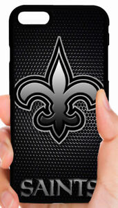 size 40 134ee cd505 Details about NEW ORLEANS SAINTS NFL CASE COVER FOR iPHONE XS MAX XR X 8 7  6S 6 PLUS 5 5S 5C 4