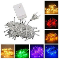 100/200/300 LED Lamp Christmas Wedding Party Decor Outdoor Fairy String Light