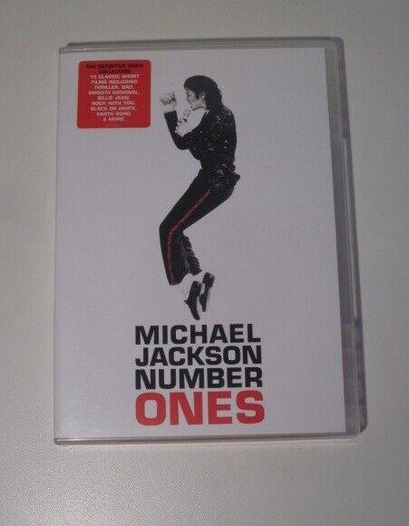 Number Ones, instruktør Michael Jackson, DVD
