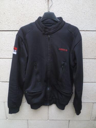 Giacca Blouson Adidas Noir Rétro Vintage Team Jacket S Veste QoedWBxrC
