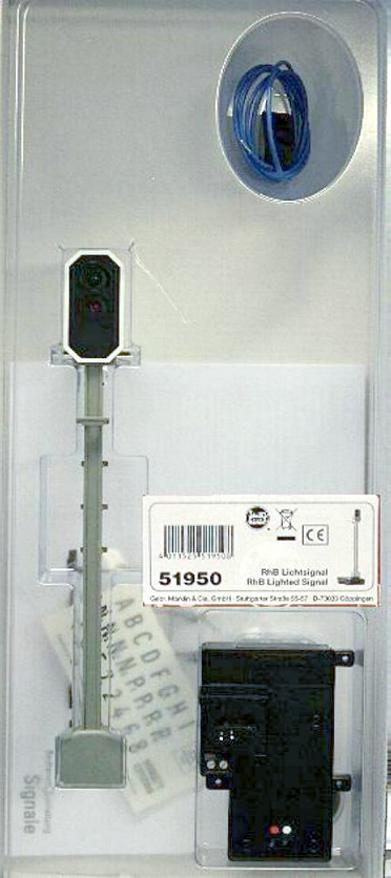 LGB LGB LGB 51950 G - RhB- Lichtsignal NEU & OvP  | Ausreichende Versorgung  8b36bf
