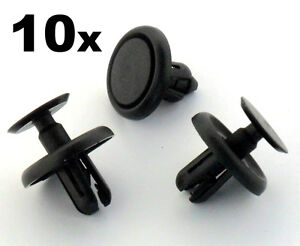 10x-Lexus-amp-Toyota-Plastic-Clips-for-Engine-Bay-Covers-amp-Shields-7mm-Hole