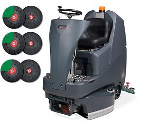 Numatic-TTV678-400G-Aufsitz-Scheuersaugmaschine-Reinigungsmaschine-Treibteller