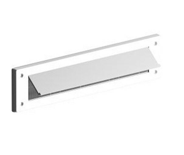 Standard Letterbox Draft Excluder White Fits most letterboxes